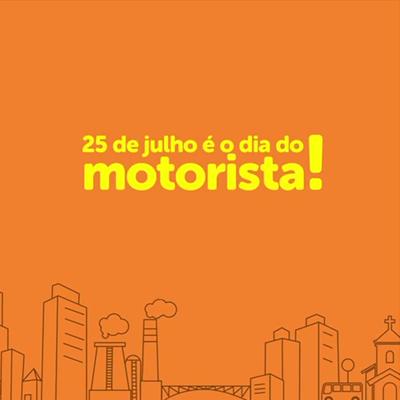 25 de julho é Dia do Motorista